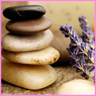 Stones and Lavender